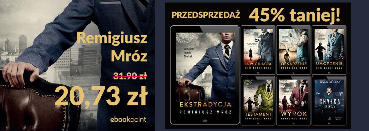 Promocja na ebooki CHYŁKA / do -45%